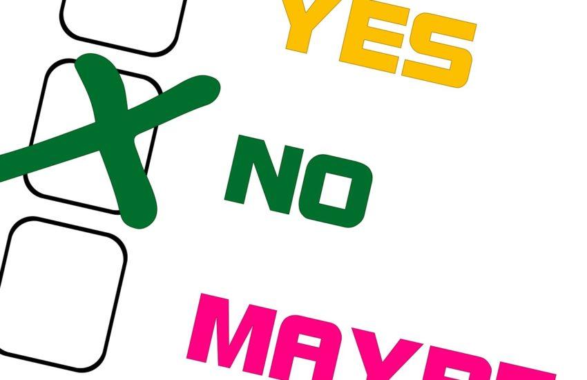 Nein sagen
