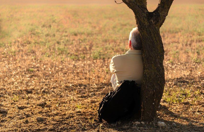 Einsam und alleine